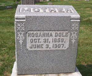 DOLE, ROSEANNA - Linn County, Iowa | ROSEANNA DOLE