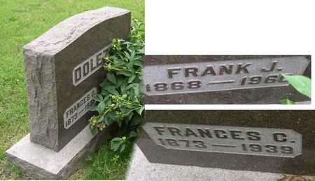 DOLEZAL, FRANK J. - Linn County, Iowa | FRANK J. DOLEZAL