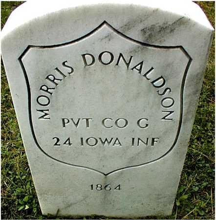 DONALDSON, PVT. MORRIS - Linn County, Iowa | PVT. MORRIS DONALDSON