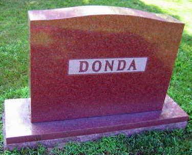 DONDA, FAMILY STONE - Linn County, Iowa   FAMILY STONE DONDA