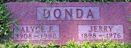 DONDA, ALYCE F. - Linn County, Iowa | ALYCE F. DONDA