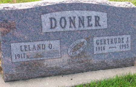 DONNER, GERTRUDE J. - Linn County, Iowa | GERTRUDE J. DONNER