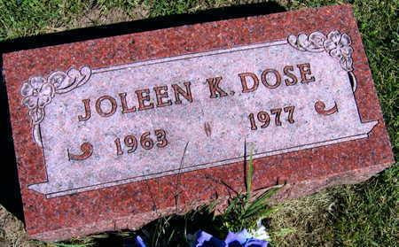 DOSE, JOLEEN K. - Linn County, Iowa | JOLEEN K. DOSE