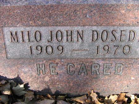 DOSED, MILO JOHN - Linn County, Iowa | MILO JOHN DOSED