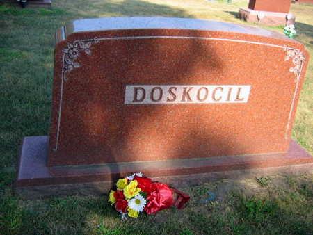 DOSKOCIL, FAMILY STONE - Linn County, Iowa   FAMILY STONE DOSKOCIL