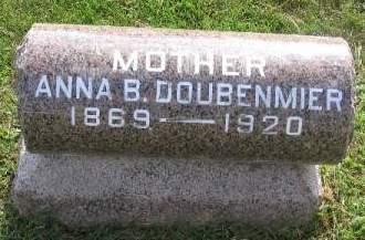DOUBENMIER, ANNA B. - Linn County, Iowa | ANNA B. DOUBENMIER