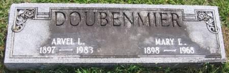 DOUBENMIER, MARY E. - Linn County, Iowa   MARY E. DOUBENMIER