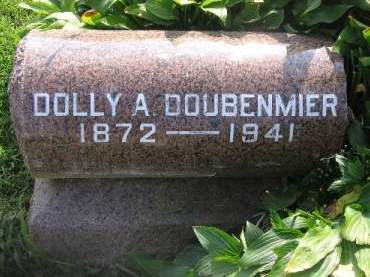 DOUBENMIER, DOLLY A. - Linn County, Iowa | DOLLY A. DOUBENMIER