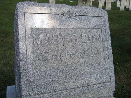 DOW, MARY C. - Linn County, Iowa | MARY C. DOW