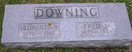DOWNING, FLORENTINA - Linn County, Iowa | FLORENTINA DOWNING