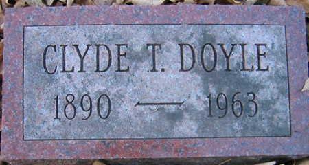 DOYLE, CLYDE T. - Linn County, Iowa | CLYDE T. DOYLE
