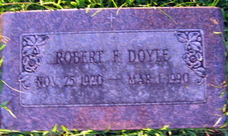 DOYLE, ROBERT F. - Linn County, Iowa | ROBERT F. DOYLE