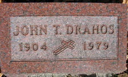 DRAHOS, JOHN T. - Linn County, Iowa | JOHN T. DRAHOS