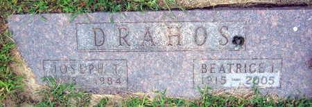 DRAHOS, JOSEPH T. - Linn County, Iowa | JOSEPH T. DRAHOS