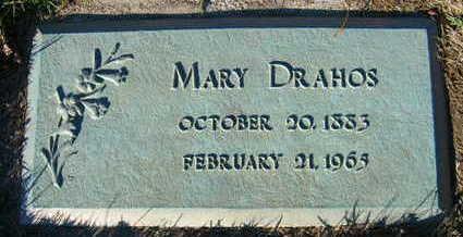 DRAHOS, MARY - Linn County, Iowa | MARY DRAHOS