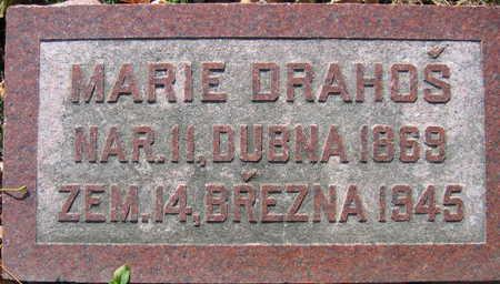 DRAHOS, MARIE - Linn County, Iowa | MARIE DRAHOS
