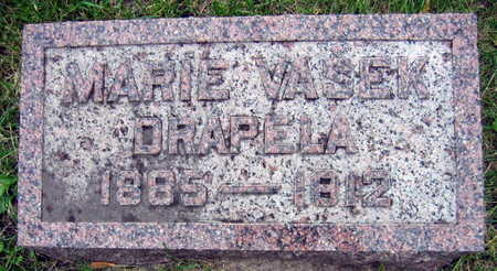 VASEK DRAPELA, MARIE - Linn County, Iowa | MARIE VASEK DRAPELA