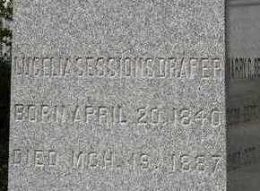SESSIONS DRAPER, LUCELIA - Linn County, Iowa | LUCELIA SESSIONS DRAPER