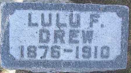 DREW, LULU F. - Linn County, Iowa | LULU F. DREW