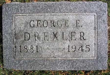 DREXLER, GEORGE E. - Linn County, Iowa   GEORGE E. DREXLER