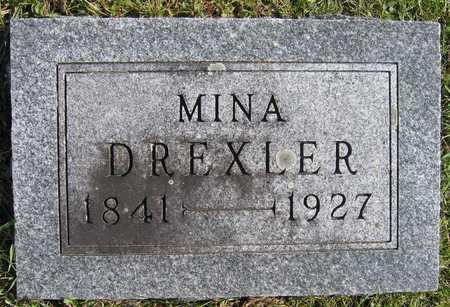 DREXLER, MINA - Linn County, Iowa | MINA DREXLER