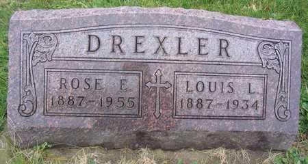 DREXLER, ROSE E. - Linn County, Iowa | ROSE E. DREXLER