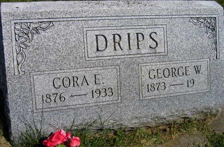DRIPS, CORA E. - Linn County, Iowa | CORA E. DRIPS