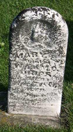 DRIPS, MARY E. - Linn County, Iowa   MARY E. DRIPS