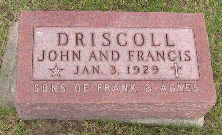 DRISCOLL, FRANCIS - Linn County, Iowa | FRANCIS DRISCOLL