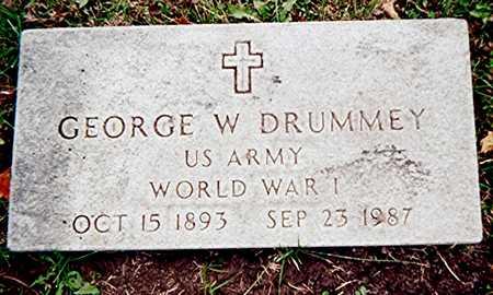 DRUMMEY, GEORGE W. - Linn County, Iowa | GEORGE W. DRUMMEY
