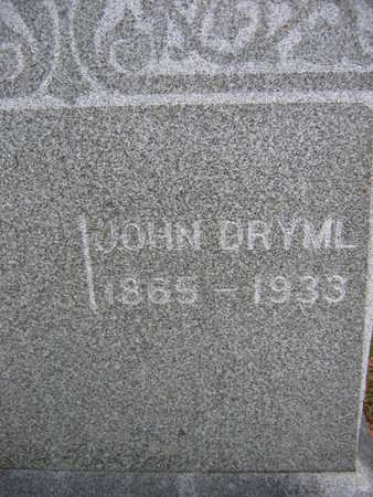 DRYML, JOHN - Linn County, Iowa | JOHN DRYML