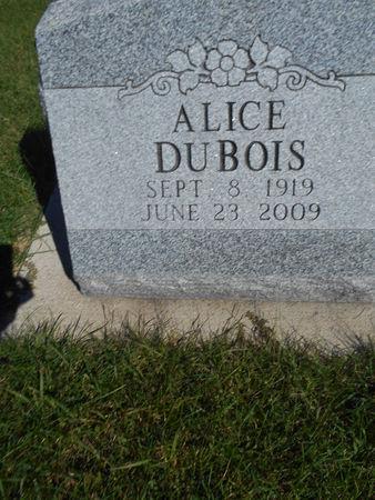 DUBOIS, ALICE - Linn County, Iowa | ALICE DUBOIS
