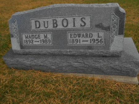 DUBOIS, MADGE M. - Linn County, Iowa | MADGE M. DUBOIS