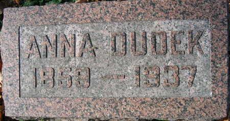 DUDEK, ANNA - Linn County, Iowa | ANNA DUDEK