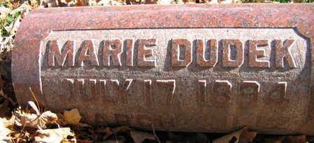 DUDEK, MARIE - Linn County, Iowa   MARIE DUDEK