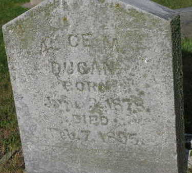 DUGAN, ALICE M. - Linn County, Iowa | ALICE M. DUGAN