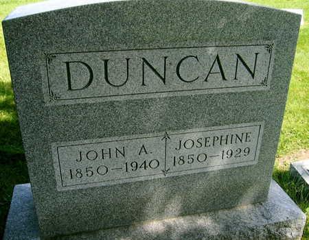 DUNCAN, JOSEPHINE - Linn County, Iowa | JOSEPHINE DUNCAN