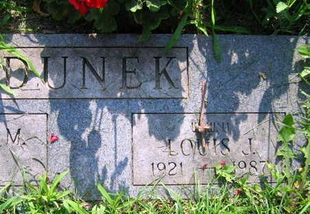 DUNEK, LOUIS J. - Linn County, Iowa | LOUIS J. DUNEK