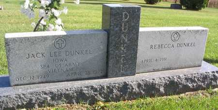 DUNKEL, JACK LEE - Linn County, Iowa | JACK LEE DUNKEL