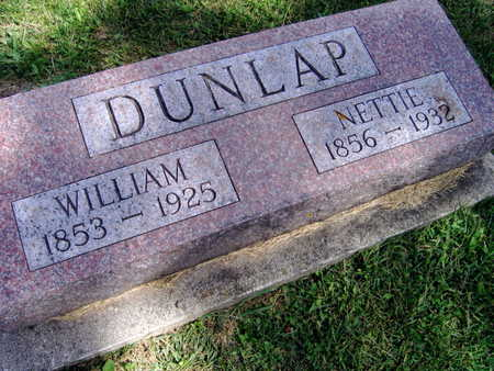 DUNLAP, NETTIE - Linn County, Iowa | NETTIE DUNLAP