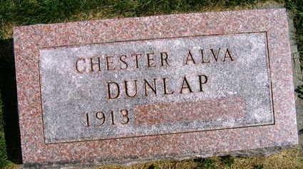 DUNLAP, CHESTER ALVA - Linn County, Iowa | CHESTER ALVA DUNLAP