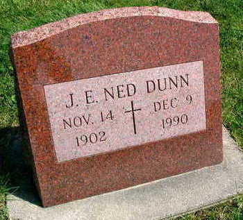 DUNN, J. E. NED - Linn County, Iowa | J. E. NED DUNN