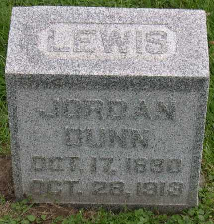 DUNN, LEWIS JORDAN - Linn County, Iowa | LEWIS JORDAN DUNN