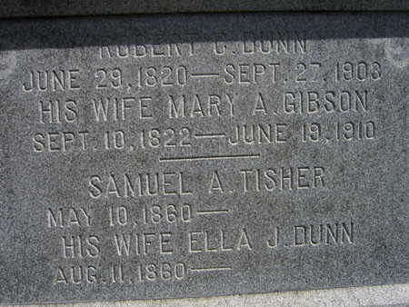 DUNN TISHER, ELLA J. - Linn County, Iowa | ELLA J. DUNN TISHER
