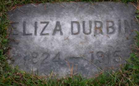 DURBIN, ELIZA - Linn County, Iowa | ELIZA DURBIN