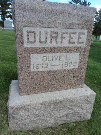DURFEE, OLIVE L. - Linn County, Iowa | OLIVE L. DURFEE