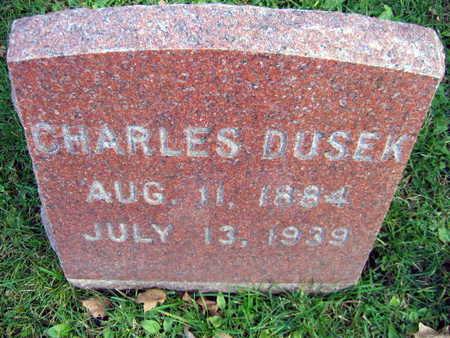 DUSEK, CHARLES - Linn County, Iowa   CHARLES DUSEK