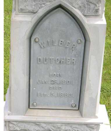 DUTCHER, WILBER - Linn County, Iowa | WILBER DUTCHER