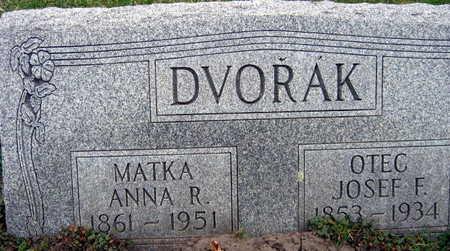 DVORAK, ANNA R. - Linn County, Iowa | ANNA R. DVORAK