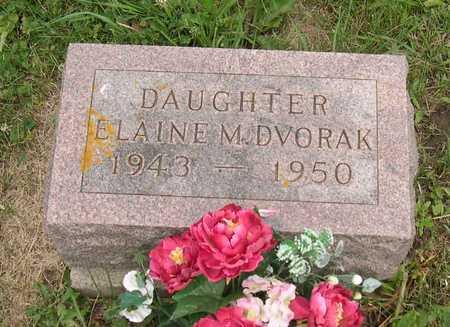 DVORAK, ELAINE M. - Linn County, Iowa | ELAINE M. DVORAK